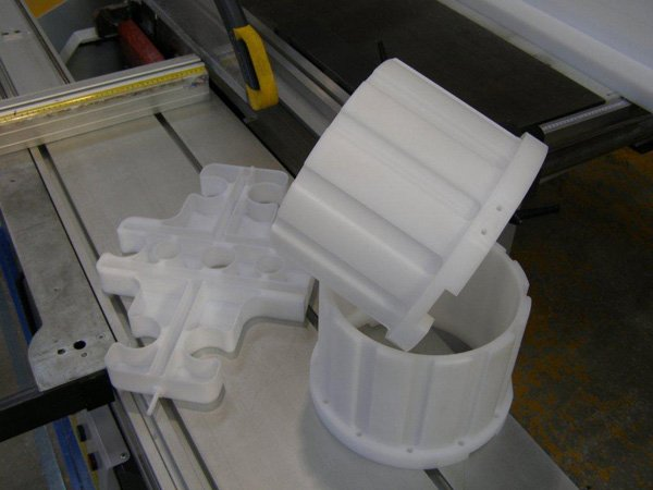 Precision machining in Acetal & Polyester
